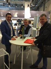 Savvatievo delegation in Herning exhibition.